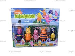 Набор Backyardigans, 5 героев, 201108, игрушки