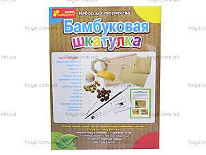 Набор для творчества «Бамбуковый сундучок», 3043-02, купить