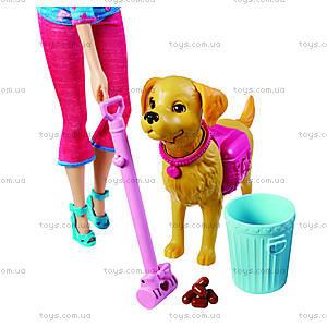 Набор Barbie с песиком серии «Домашние питомцы», BDH74, фото