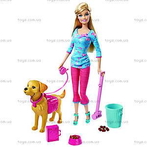 Набор Barbie с песиком серии «Домашние питомцы», BDH74