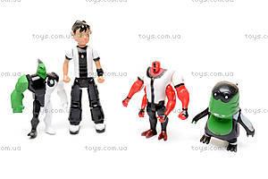 Набор «Бен 10», 5 героев, 6673A, игрушки
