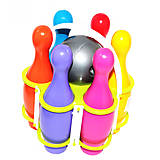 "Набор ""Боулинг"", 6 кеглей, 1 шар, KW-60-021, купить"