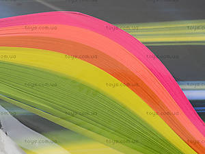 Набор бумаги для квиллинга «Серия Сyber Neon», Ц436024У, фото