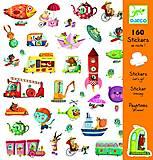 Набор бумажных наклеек «Большой транспорт», DJ08844