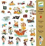 Набор бумажных наклеек «Пираты», DJ08839, фото