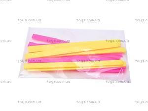 Набор бусин «Красавица», с фетровыми роллами, 6181, детские игрушки