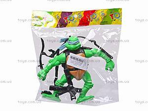 Набор «Черепашки-ниндзя», с оружием, 3343A, игрушки