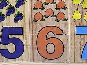 Набор цифр деревянный, 229, фото