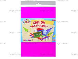 Набор цветного картона А4 «Глянец», 950254, купить