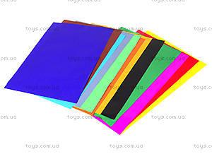 Набор цветного картона А4 «Глянец», 950254, фото