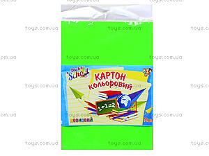 Набор цветного картона А4 «Неон», 950258, купить