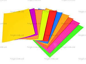 Набор цветного картона А4 «Неон», 950258, фото