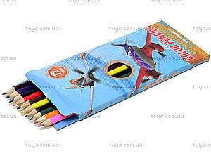 Набор цветных детских карандашей, 12 штук, PLBB-US1-P-12, купить