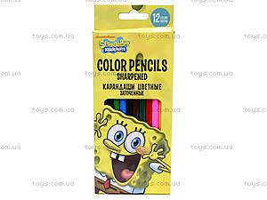 Набор цветных детских карандашей, SPBK-12S-P-12
