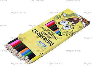 Набор цветных детских карандашей, SPBK-12S-P-12, купить