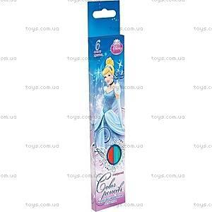 Набор цветных детских карандашей, 6 штук, CIAB-US1-P-6, купить