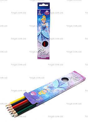 Набор цветных детских карандашей, 6 штук, CIAB-US1-P-6