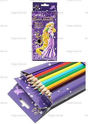 Набор цветных карандашей, 24 штуки, PRGL-12S-1P-24