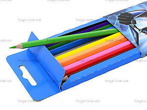 Набор цветных карандашей Max Steel, MX14-051K, цена
