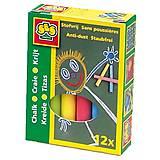 Набор цветных мелков «Малыш», 0201S, цена