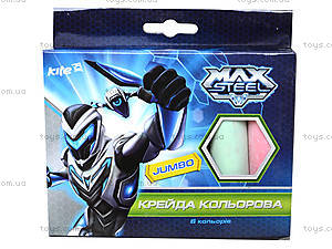 Набор цветных мелков Max Steel, MX14-073K
