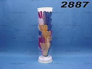 Набор цветных воланчиков, 288С/2887