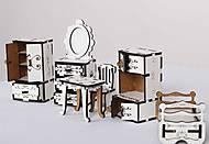 Набор деревянной мебели, белый, Р3, фото