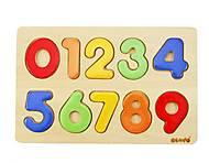 Набор деревянных цифр для обучения, 0381, фото