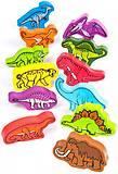 Набор деревянных фигурок «Динозавры», E0910, купить