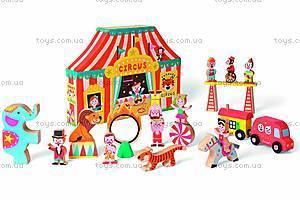 Набор деревянных игрушек «Цирк Стори бокс», 19 деталей, J08520