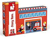 Набор деревянных игрушек «Пожарники Стори бокс», 15 деталей, J08522, купить