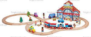 Набор деревянных игрушек «Цирк Стори бокс», 46 деталей, J08529