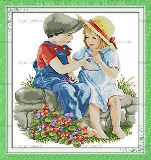 Набор «Детская дружба» для вышивки, R496