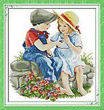 Набор «Детская дружба» для вышивки, R496, фото