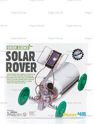 Набор «Детская лаборатория. Машинка на солнечной батарее», 00-03286