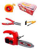 Набор детских инструментов «Мастер», 7913C, купить