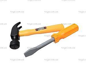 Набор детских инструментов «Мастер», 7913C, фото