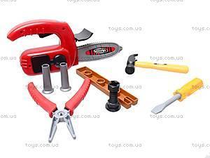 Набор детских инструментов «Мастер», 7913C, игрушки