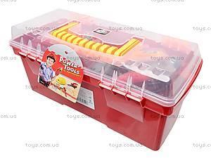 Набор детских инструментов «Мастер», 7913C, детские игрушки