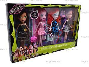 Набор детских кукол Bratzillaz, 9181, игрушки