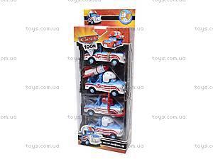 Набор детских машинок «Тачки», 767-266