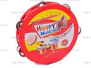 Набор детских музыкальных инструментов, 6688G, фото