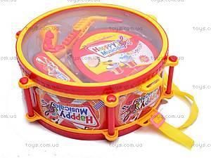 Набор детских музыкальных инструментов, 6688G, игрушки