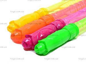 Набор детских мыльных пузырей, 4 цвета, 333C, купить