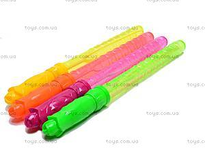 Набор детских мыльных пузырей, 4 цвета, 333C