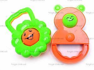 Набор детских погремушек, 5 штук, 38330A, фото
