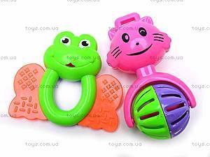 Набор детских погремушек, 5 штук, 38330A, отзывы