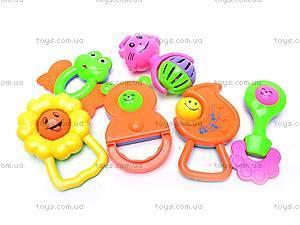 Набор детских погремушек, 5 штук, 38330A