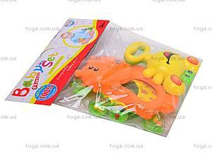 Набор детских погремушек «Животные», 628-9, цена