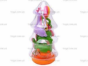 Набор детских погремушек, в колбе, LB291, купить
